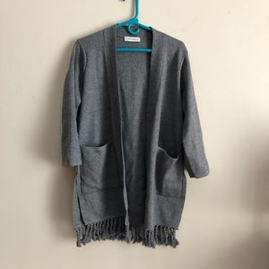 Chicwish Sweater Cardigan with Pockets Size Small